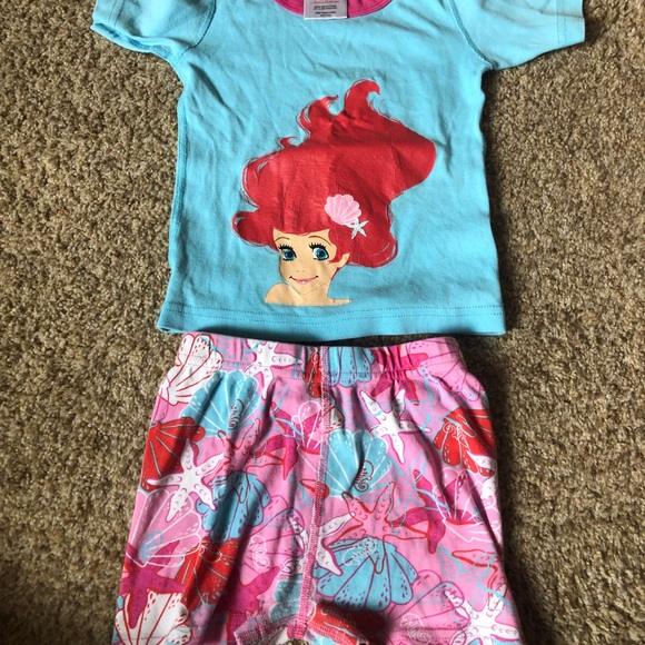 dab3257a18 Hanna Andersson Other - Organic Cotton Hanna Disney Mermaid pjs size 4